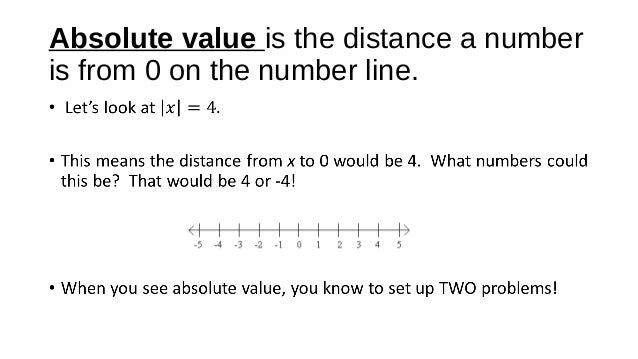 Absolute Value Equations and Inequalities – Absolute Value Equations and Inequalities Worksheet