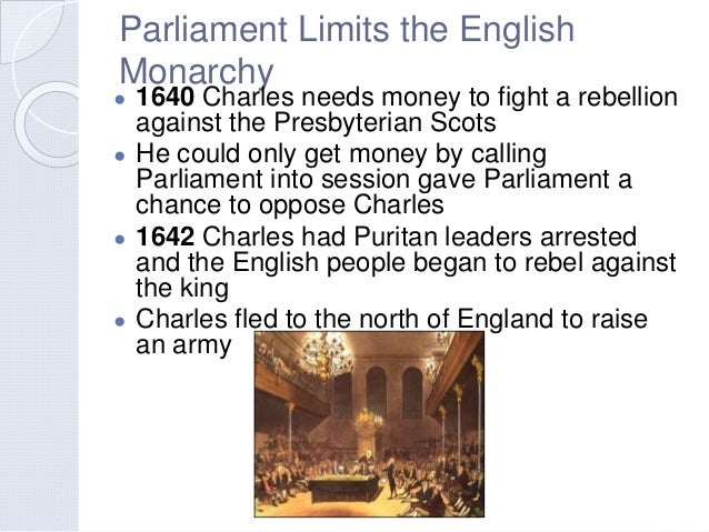 absolutism and revolution rh slideshare net British Parliament 1600 guided reading parliament limits the english monarchy answers