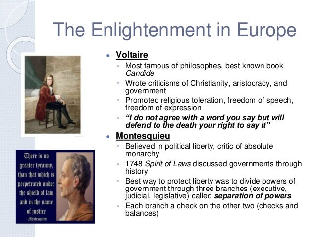 Absolutism and revolution – Enlightenment Worksheet