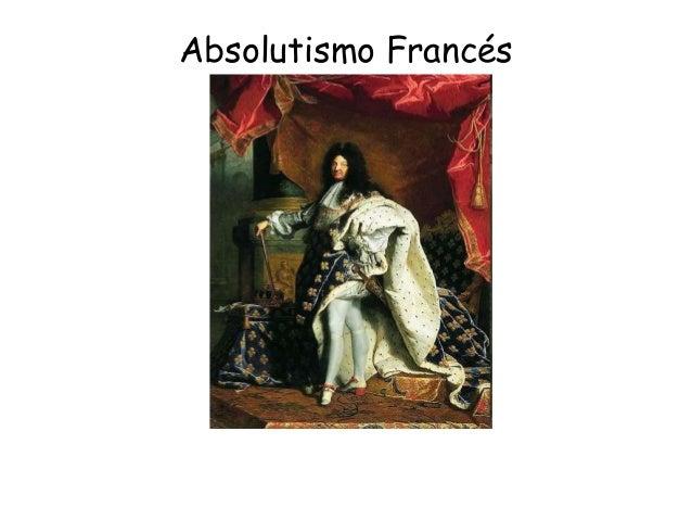 Absolutismo Francés