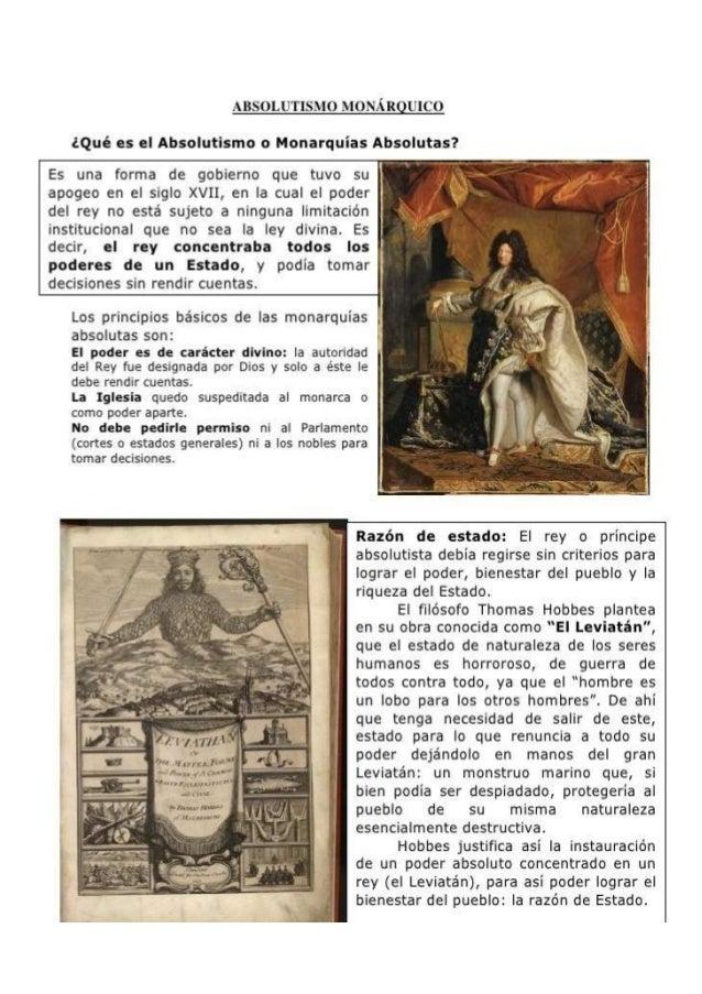 Absolutismo francia