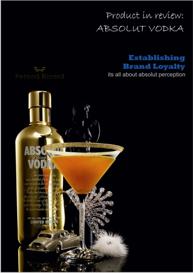 absolut vodka pricing strategy Pernod ricard: still struggling with absolut dec that this strategy doesn't work for vodka had to be made in terms of pricing and.