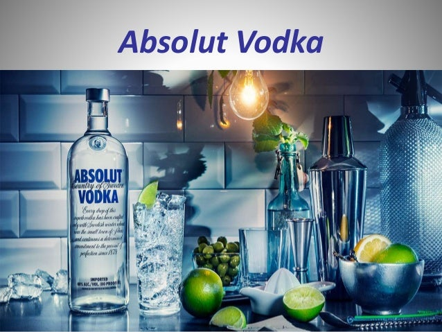 absolute vodka marketing plan Presentation about the history, development, two marketing campaigns and the world of absolut vodka (2011.