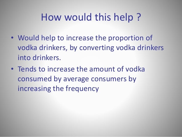 positioning of absolut vodka Previous post: india's poor question 'poverty line' policy – asia – al jazeera english next post: example of positioning: singapore airlines commercial 2011.