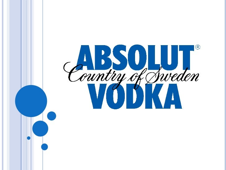 AGENDA Basic information The marketing strategy of Absolut Vodka A real story of success begins Two different campaign...