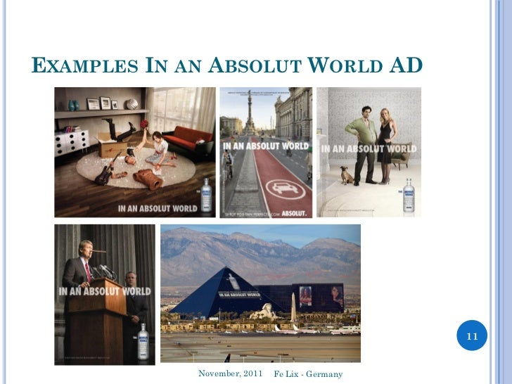 absolute vodka marketing plan Introduction the absolute company is a subsidiary of french spirits mega- company 4 12 marketing objectives the first marketing.