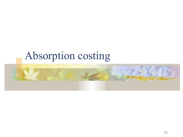 contribution and marginal costing The difference between marginal costing and absorption costing is a little complicated in marginal costing, marginal cost is determined by bifurcating fixed cost and variable cost presented to outline total contribution of each product presented in conventional way.