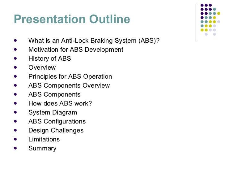 Anti Lock Braking System Report Pdf
