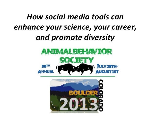 How social media tools can enhance your science, your career, and promote diversity