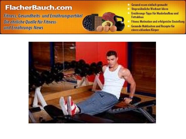 5. Bauchmuskulaturgeräte jeglicher Art, wie in der der Werbung gezeigt..., sie alle sind nur reine Geld- und Zeitverschwen...