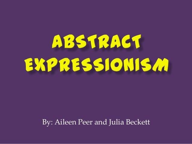 By: Aileen Peer and Julia Beckett