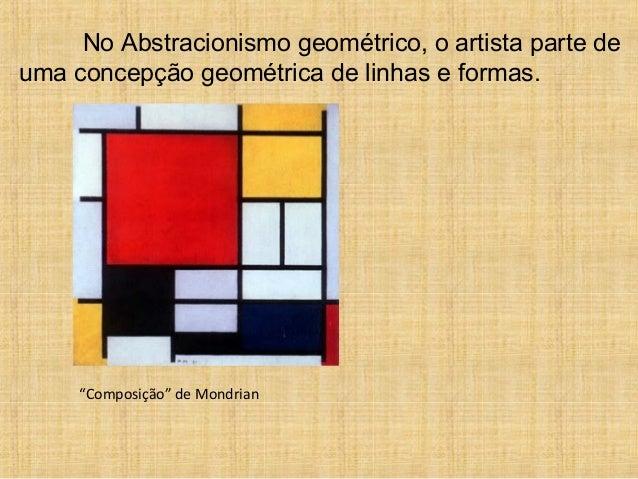 Abstracionismo geométrico e informal
