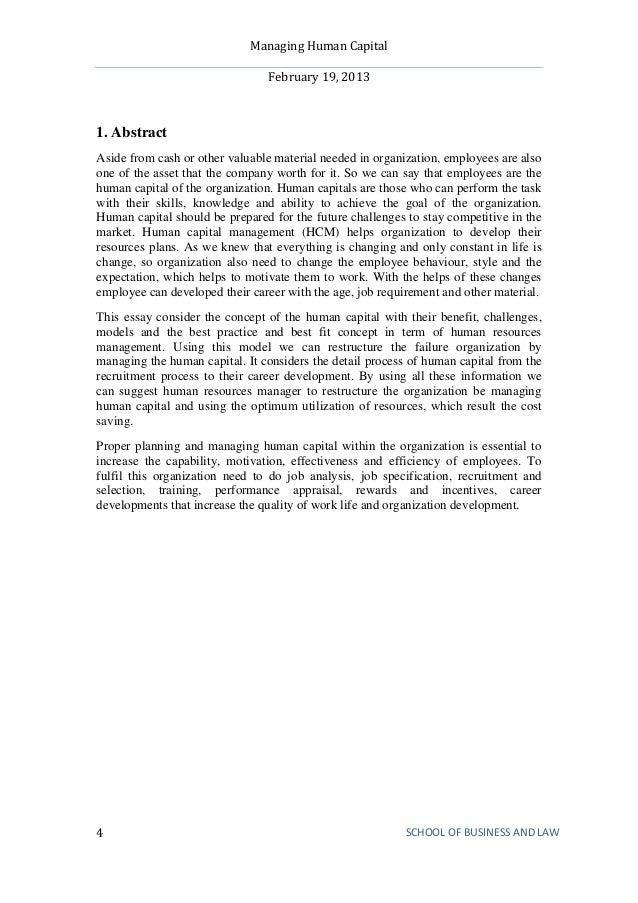 managing human capitalMHC mba 2 semester