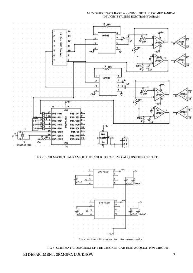 emg block diagram