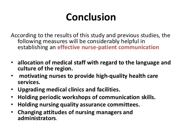 conclusion about the barriers of communication Free communication barriers papers  i had circum to the conclusion that telehealth was simply typing into google signs and symptoms of a medical condition.