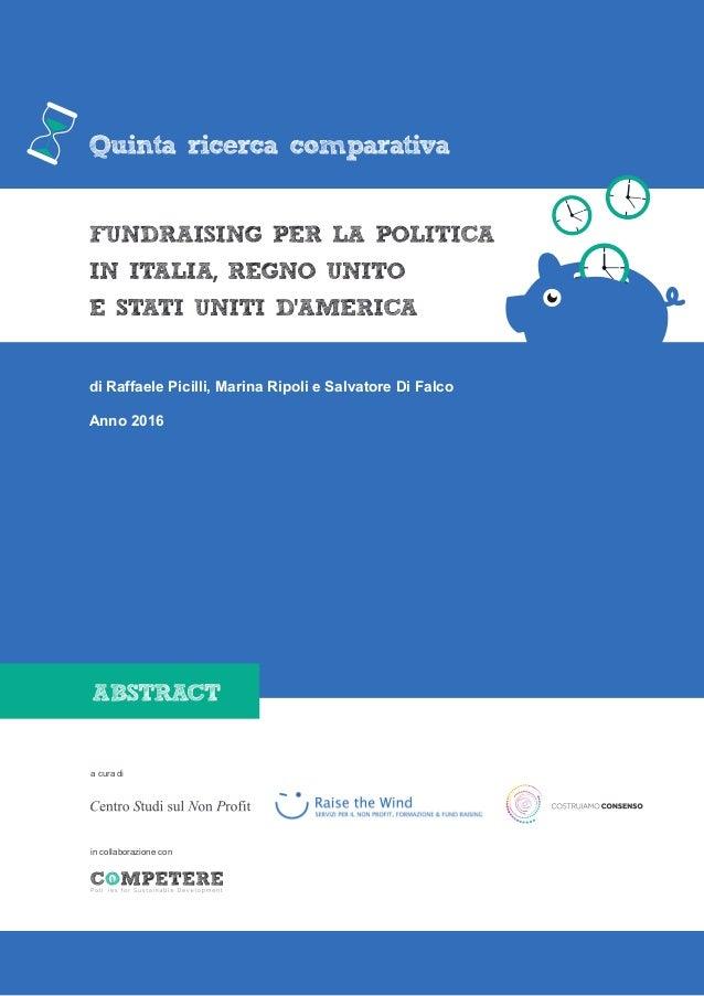 di Raffaele Picilli, Marina Ripoli e Salvatore Di Falco in collaborazione con a cura di Anno 2016