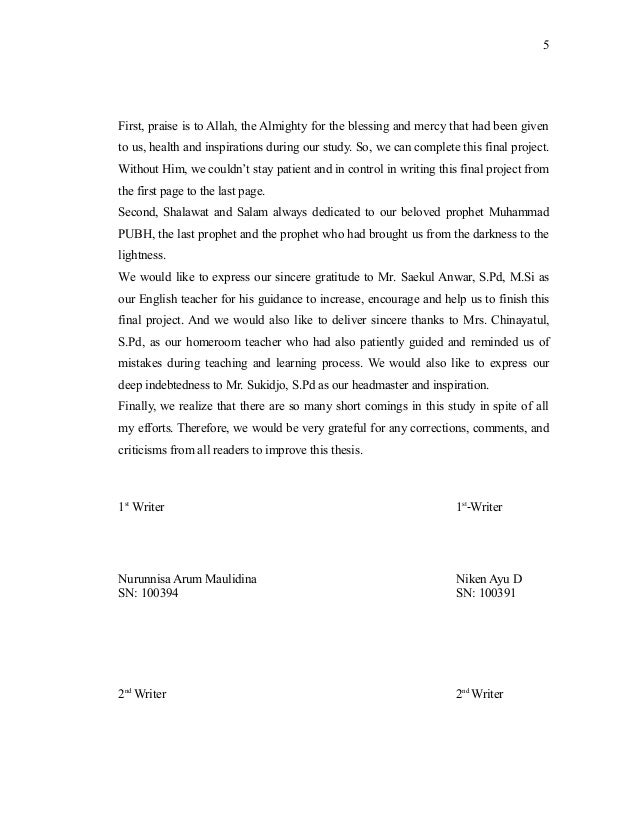 abstract and acknowledgement Dissertation acknowledgement samples here are some of the thesis acknowledgement samples acknowledgement sample 1  my  abstract.