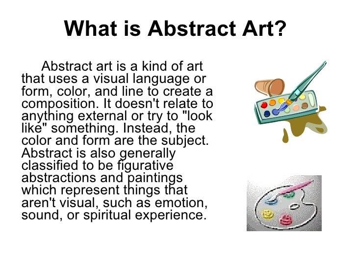 Characterisitics Of Abstract Art