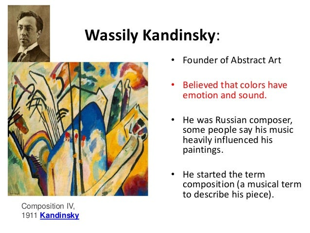 Founder Of Abstract Art