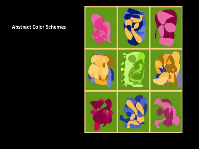 Abstract Color Schemes