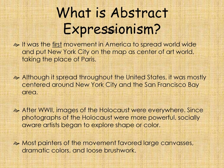 abstract expressionism essay abstract expressionism essay lux