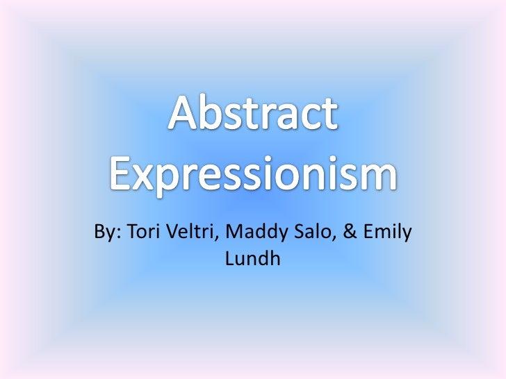 By: Tori Veltri, Maddy Salo, & Emily                 Lundh