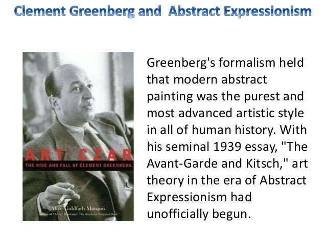 clement greenberg collected essays Buy 002: the collected essays and criticism, volume 2: arrogant purpose, 1945-1949 new edition by clement greenberg, john o'brian (isbn: 9780226306223) from amazon's book store.