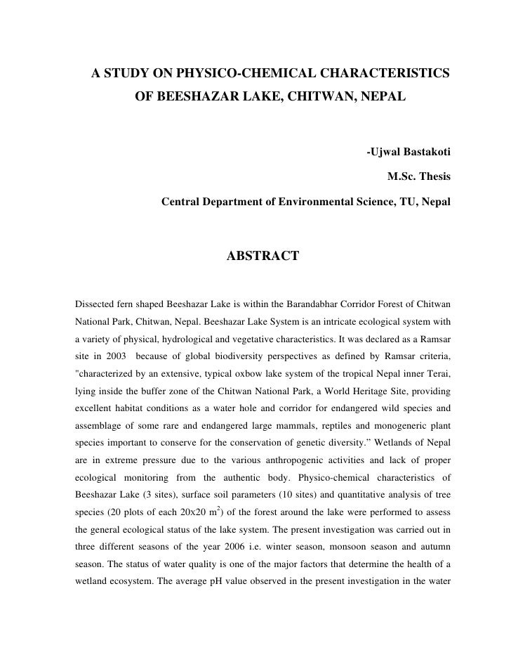 dissertation abstract in education