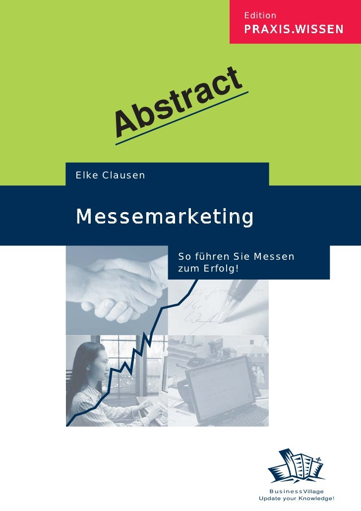 Abstract Messemarketing