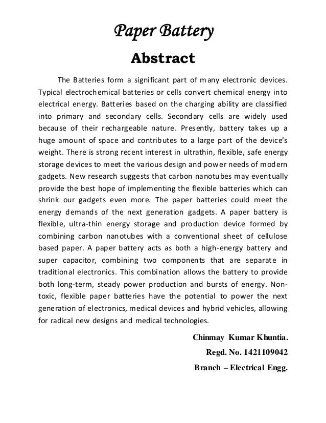 how to start abstract in research paper The abstract will also succinctly summarise what actual research the paper is   volunteer for an activity, when such a request comes up, and begin to build a.