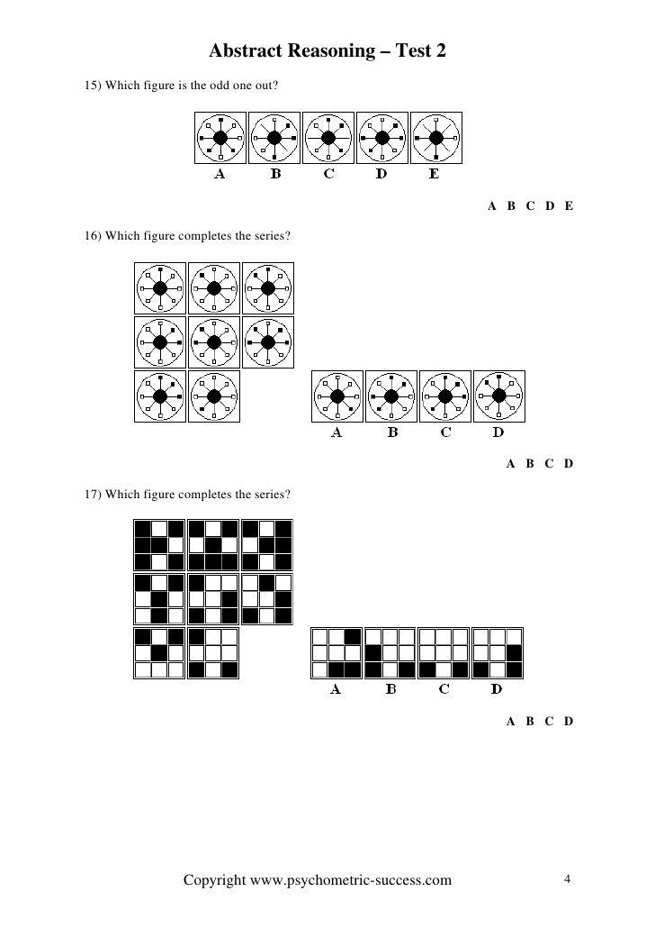Abstract reasoning 2