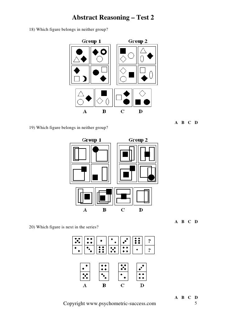 how to understand abstract reasoning