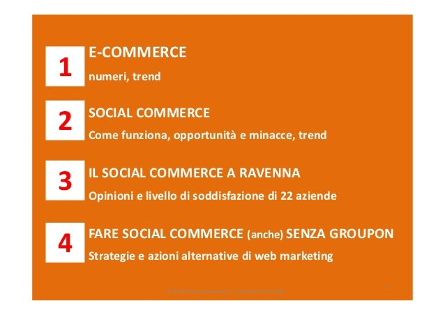 "Abstract della ricerca ""Social commerce: coupon e sconti"" Slide 2"