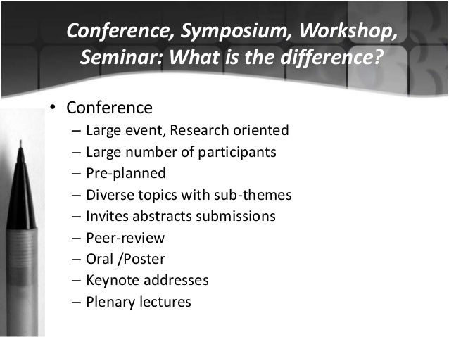 Abstract writing for conferences Slide 2
