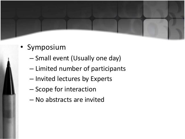 Abstract writing for conferences Slide 3