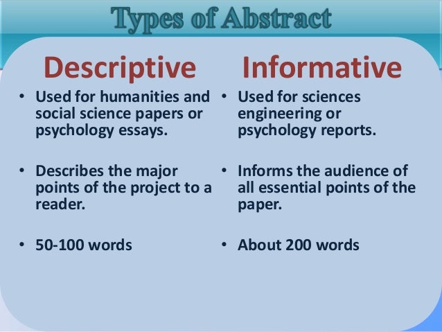 extended article ib abstract definition