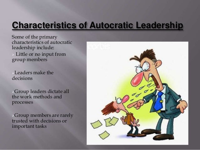 What are the names of some autocratic leaders?