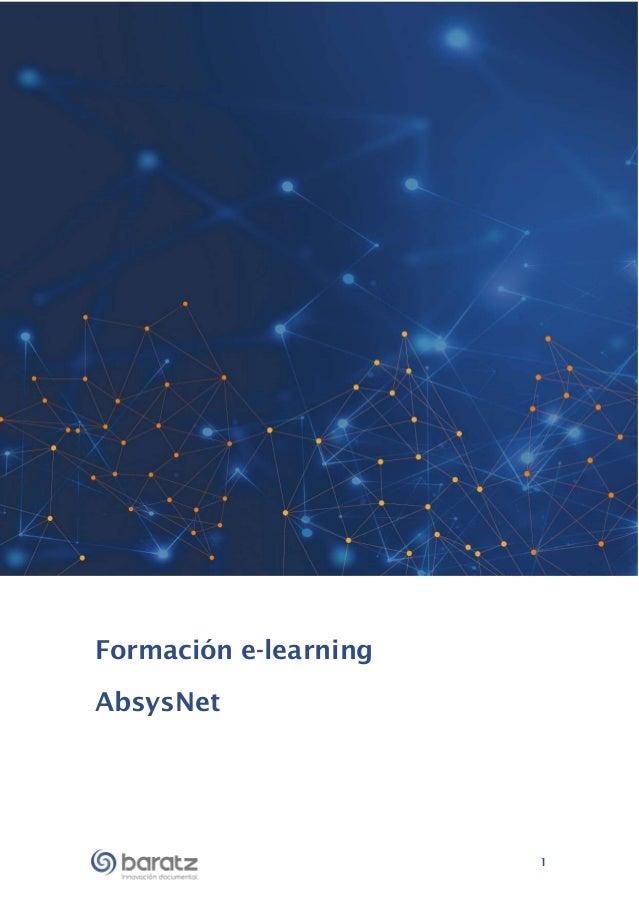 1 Formación e-learning AbsysNet