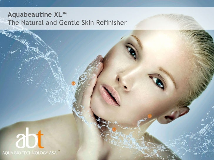 Aquabeautine XL™The Natural and Gentle Skin Refinisher                                         1