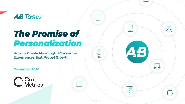 2020 © AB Tasty How to Create Meaningful Consumer Experiences that Propel Growth December 2020
