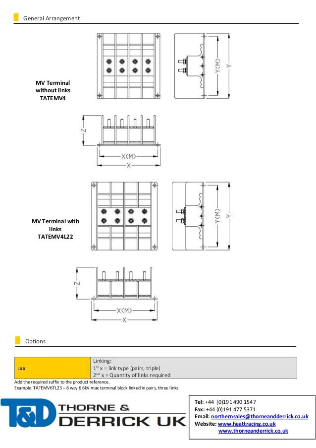 Abtech Medium Voltage Terminal (ATEX Certified) - Spec Sheet Slide 2