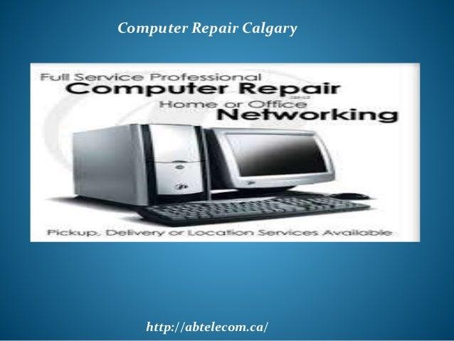 http://abtelecom.ca/ Computer Repair Calgary