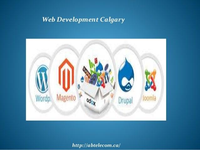 http://abtelecom.ca/ Web Development Calgary