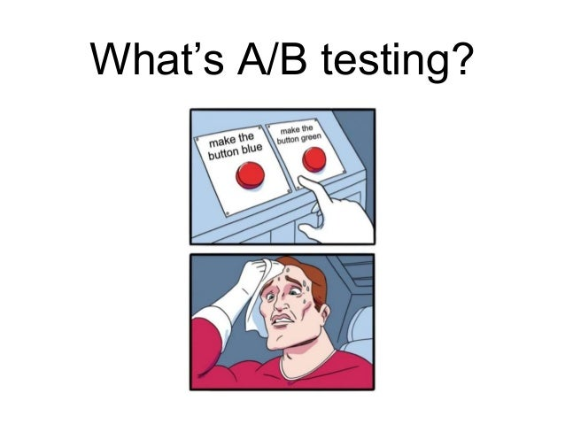 A/B Testing with React Slide 2