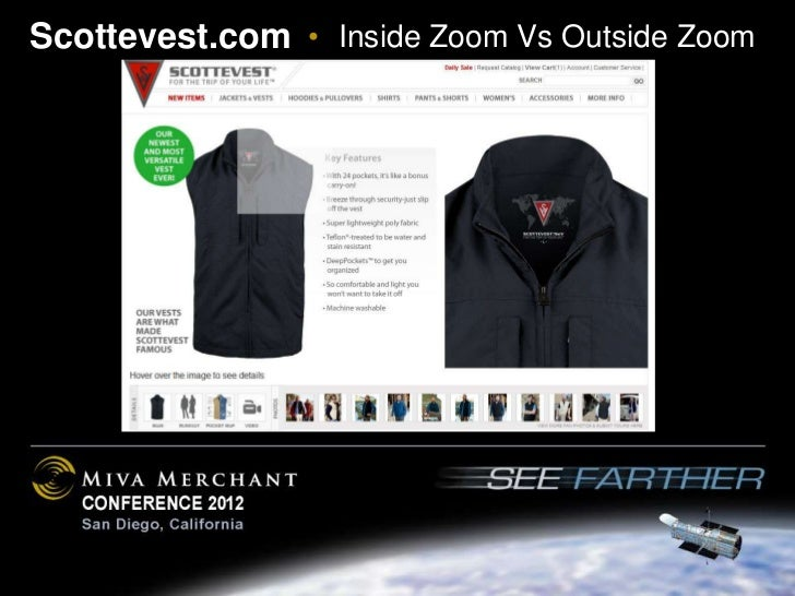 Scottevest.com • Inside Zoom Vs Outside Zoom