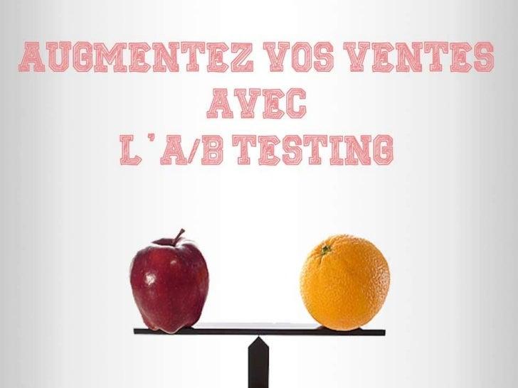 A/B Testing ?