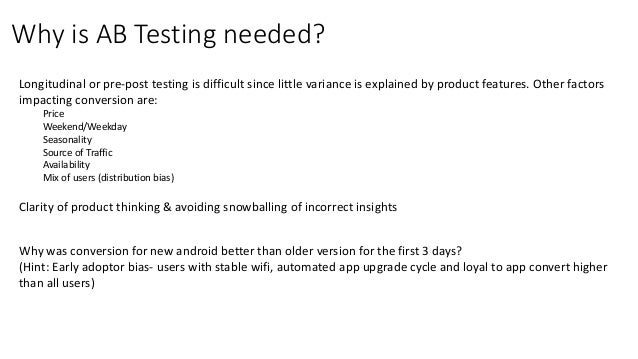 Introduction to AB testing