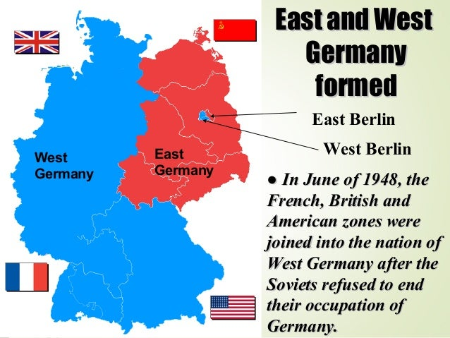 Map Of Germany Occupation Zones.How Germany Was Divided Into Occupation Zones After World War Ii