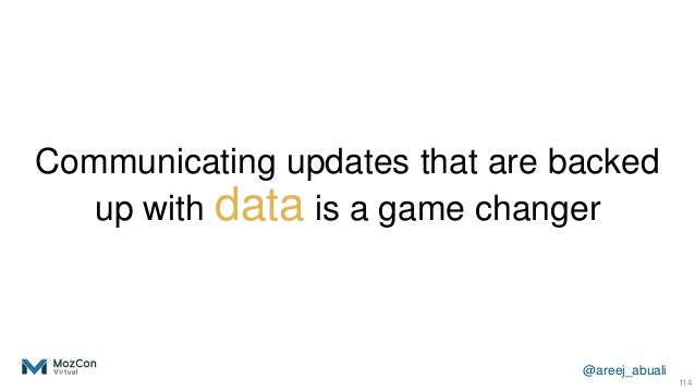 @areej_abuali Communicating updates that are backed up with data is a game changer 114