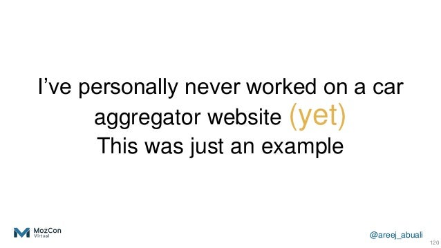 @areej_abuali I've personally never worked on a car aggregator website (yet) This was just an example 120